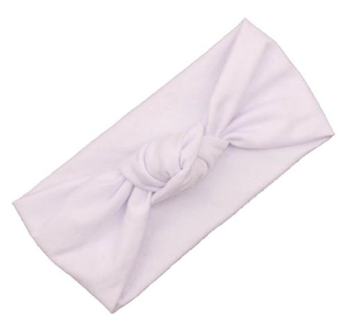 Turban Knot Headband - White - 3 Baby Sparrows3 Baby Sparrows 81c0503359e